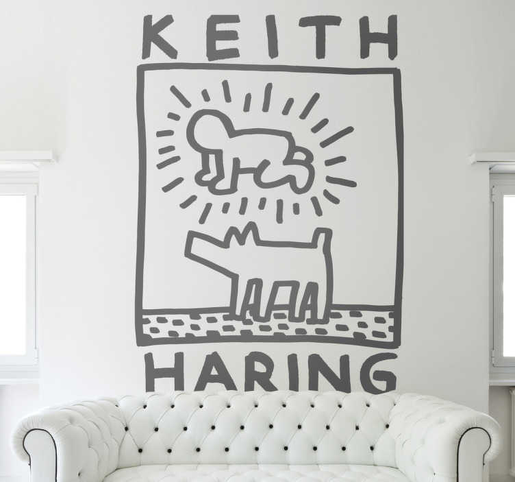 Sticker Keith Haring