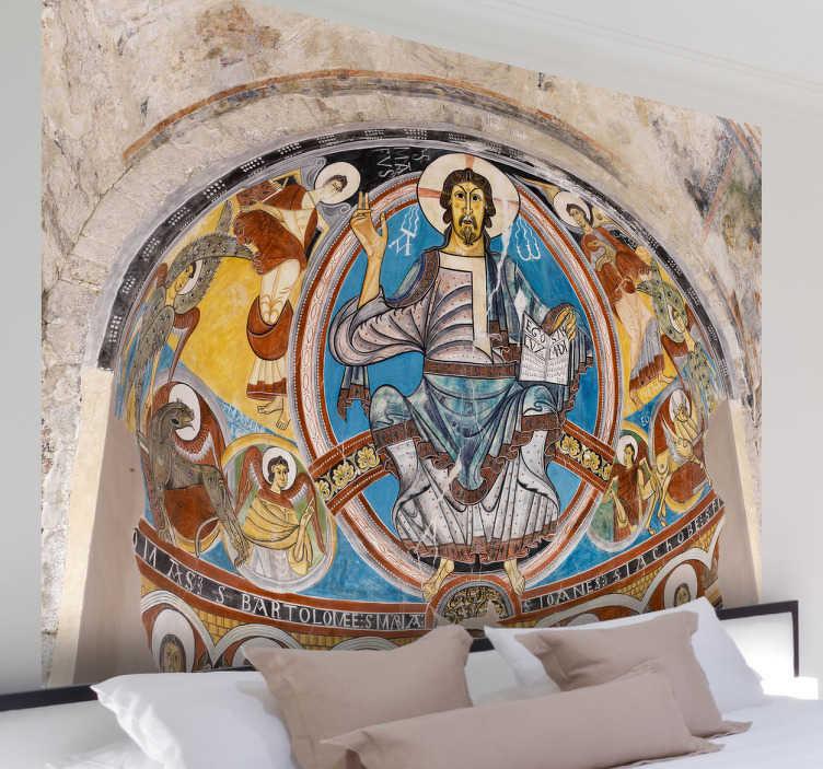 Vinilo decorativo pantocrátor románico