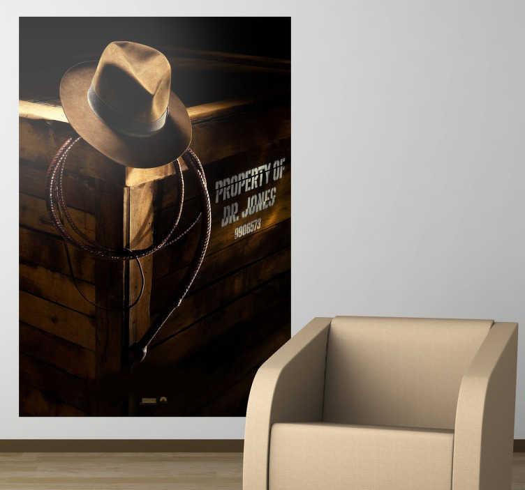 Vinilo decorativo cartel Indiana Jones