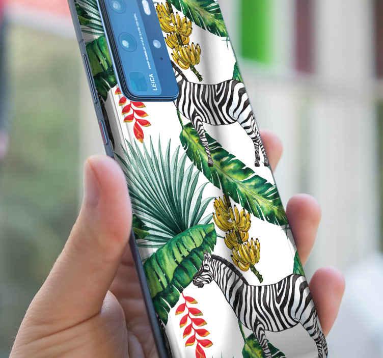 TENSTICKERS. 自然のパターンhuaweiデカール. お使いの携帯電話の背面スペースをカバーする自然パターンhuawei電話ステッカー。耐久性があり、粘着性があり、簡単に塗布できます。