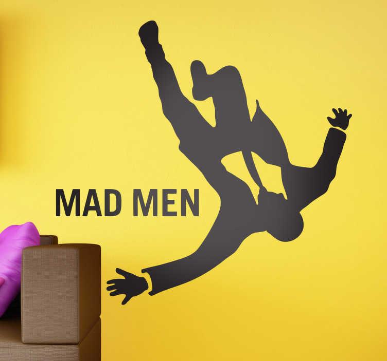 TenVinilo. Vinilo decorativo serie Mad Men. Adhesivo de una de las series más seguidas y premiadas de los últimos tiempos.