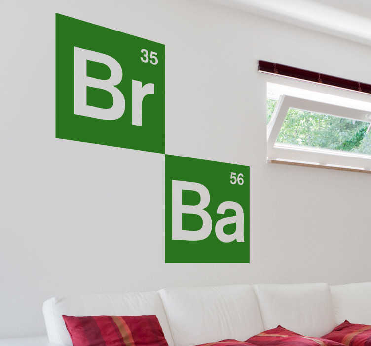 breaking bad aufkleber tenstickers