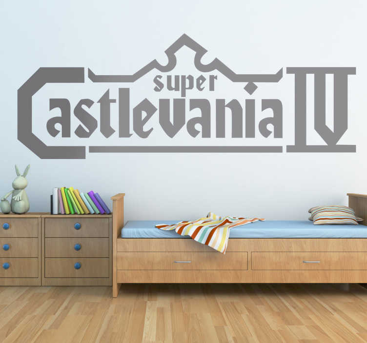 Sticker decorativo Castlevania IV