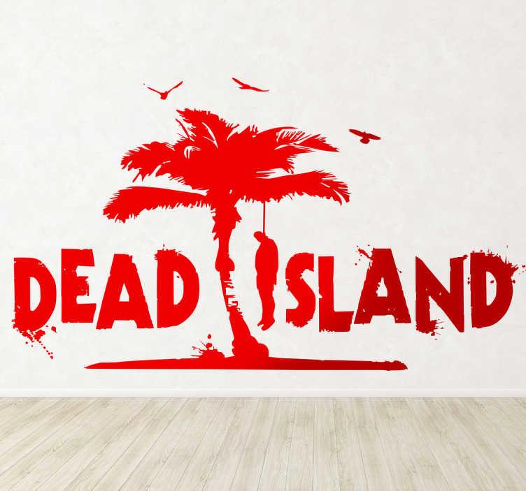 Naklejka dekoracyjna na ścianę Dead Island