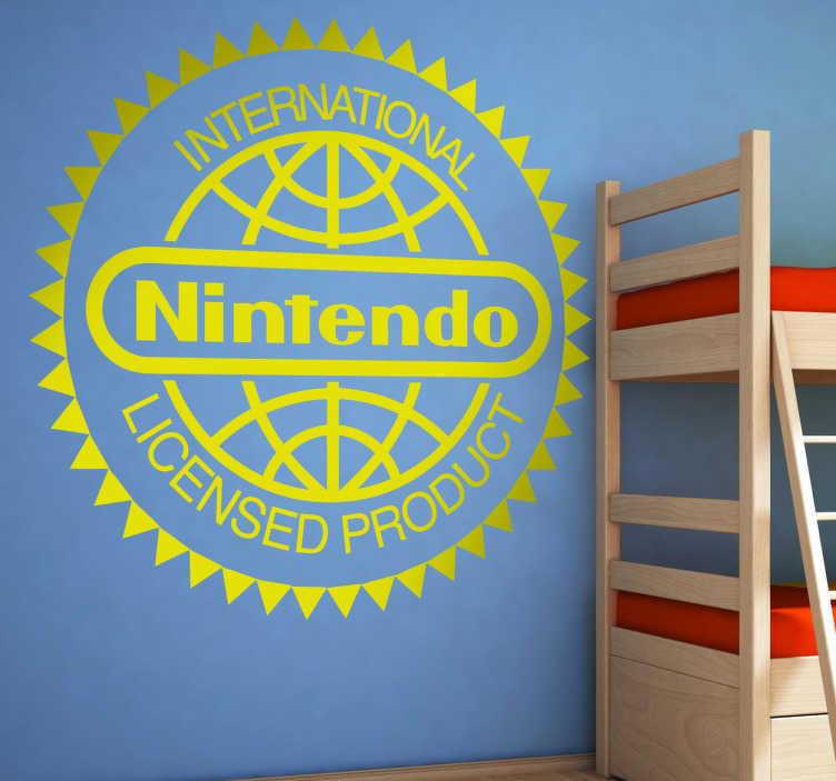 Naklejka logo Nintendo