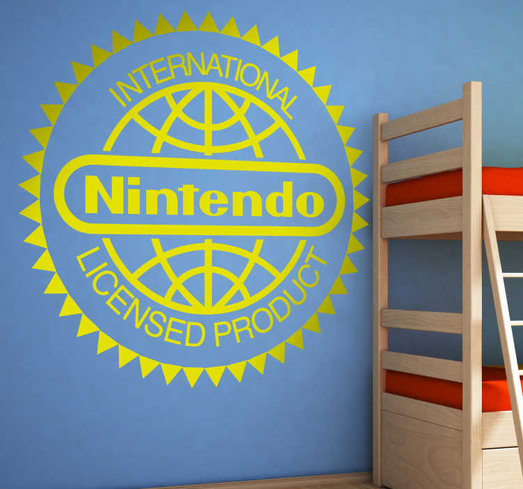 Vinilo decorativo licencia Nintendo