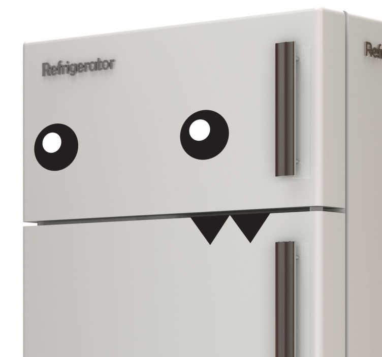 Kühlschrank Monster Aufkleber - TenStickers