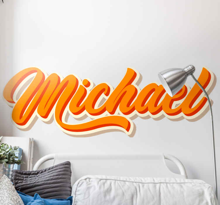 TENSTICKERS. 落書き壁画パーソナライズされた都市デカール. 私たちのオリジナルの落書き壁画アーバンカスタムネームステッカーであなたのティーンや子供のスペースのあなたのスペースをパーソナライズしてください。適用が簡単で耐久性があります。
