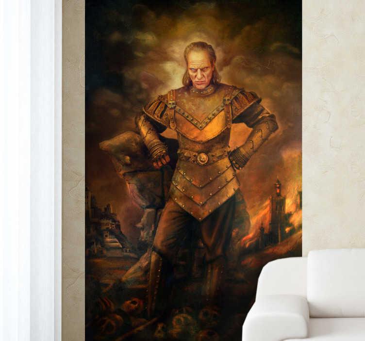 TenVinilo. Vinilo decorativo cuadro Vigo. Adhesivo para los fans más freakies de Cazafantasmas. ¿Reconocéis esta pintura?