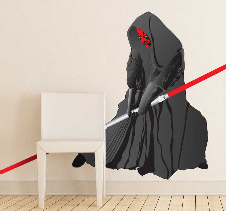 Sticker decorativo Darth Maul
