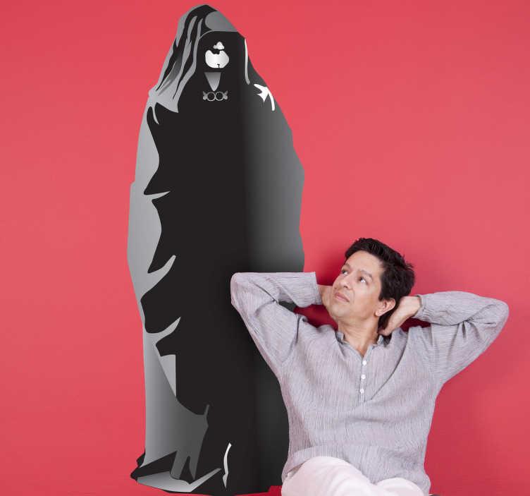 TenVinilo. Vinilo decorativo Darth Sidious. Pegatina del señor oscuro de los Sith, el senador Palpatine, maestro de Darth Vader.