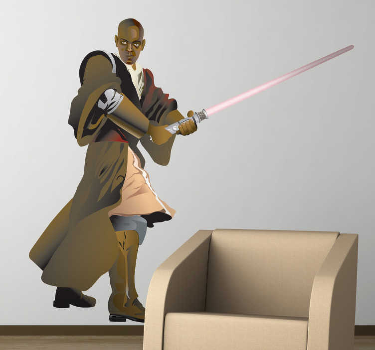 Sticker decorativo Mace Windu