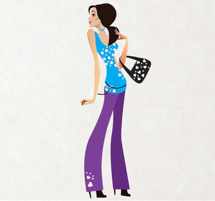 Bild von Fashion victim Aufkleber
