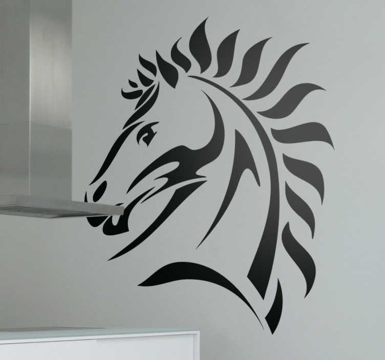 Sticker decorativo cavallo
