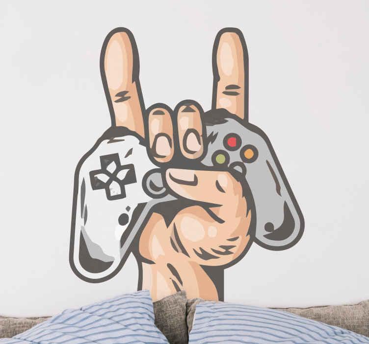 Image of Skin PlayStation Mano con moderno joystick