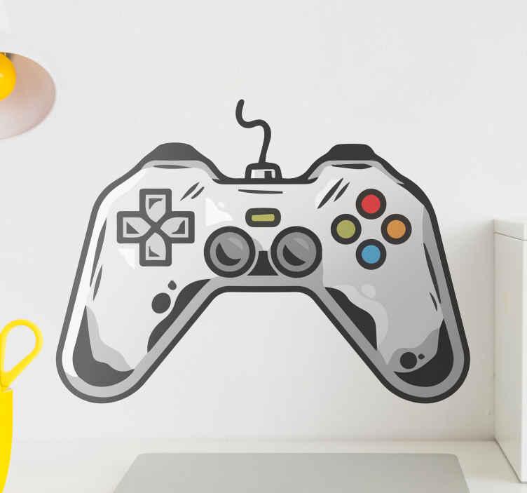 Image of Skin PlayStation Icona gamepad videogioco