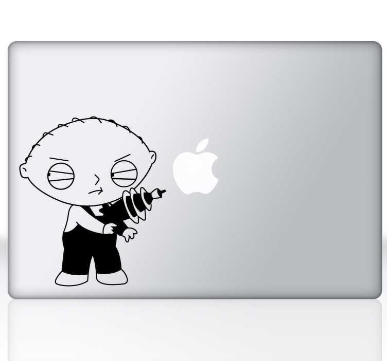 Vinilo decorativo Family Guy para Mac