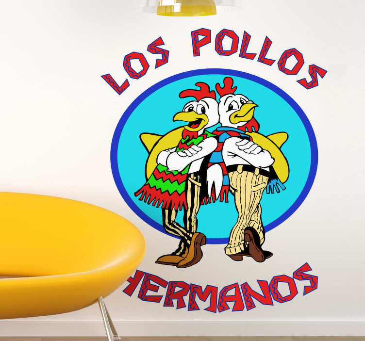 Sticker decorativo Los Pollos Hermanos