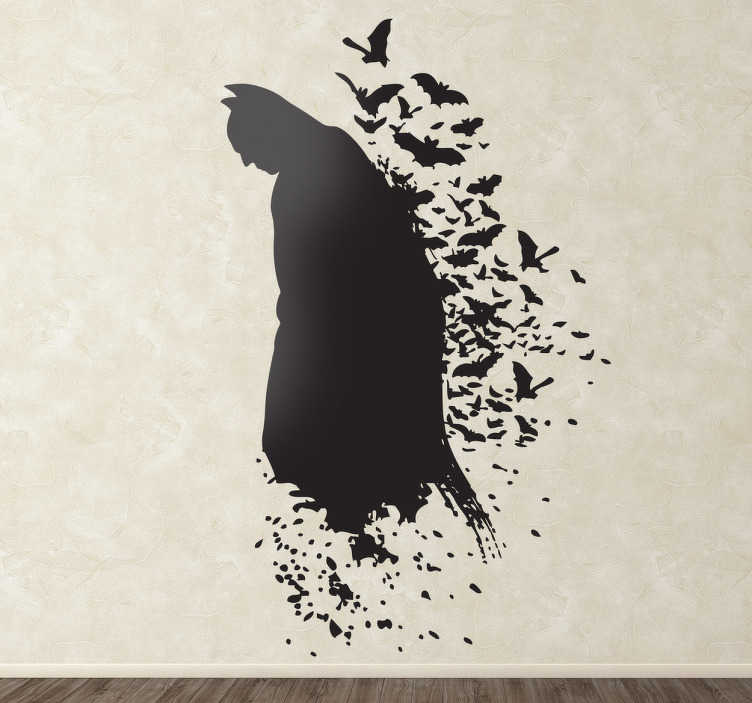 Sticker enfant ombre de Batman