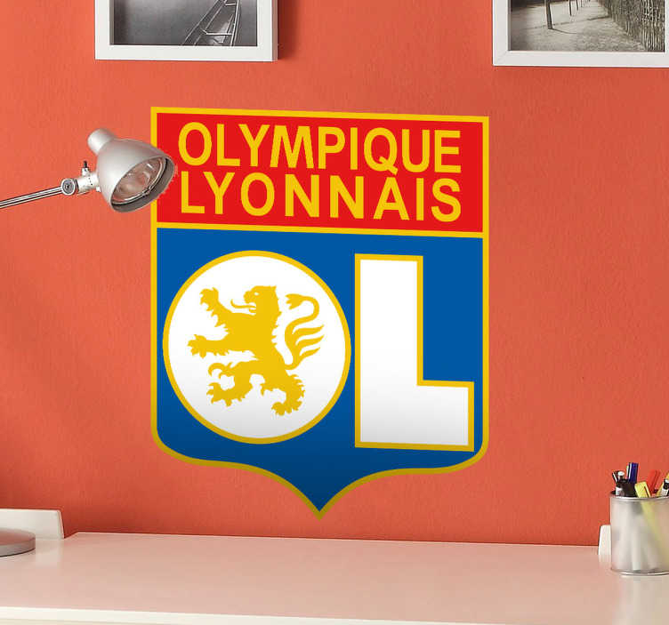 sticker cusson olympique lyonnais tenstickers. Black Bedroom Furniture Sets. Home Design Ideas