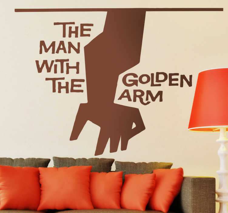Sticker decorativo Man with the Golden Arm