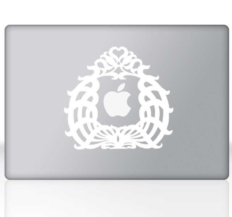 sticker gravure pour pc portable tenstickers. Black Bedroom Furniture Sets. Home Design Ideas