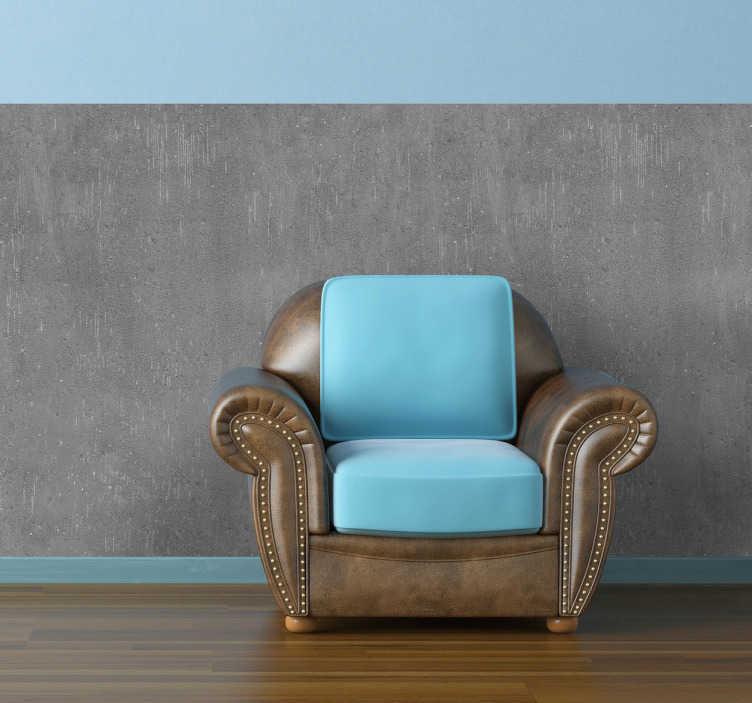 TenStickers. Sticker texture béton. Les murs de votre maison sont en ciment avec cet incroyable sticker texture effet béton.