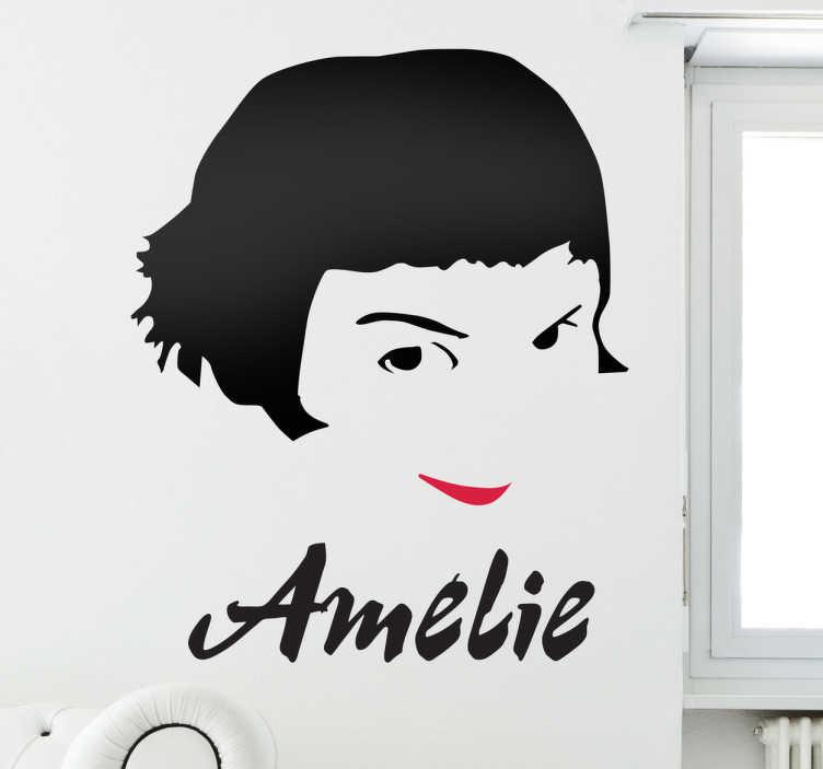 Sticker film Amélie Poulain