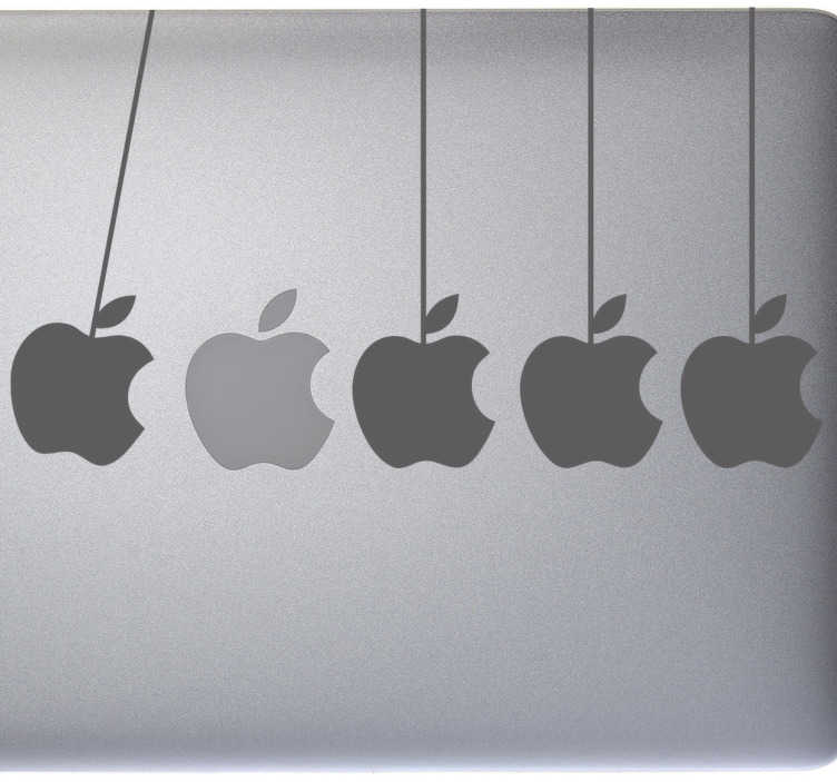 Skin adesiva mele per Mac