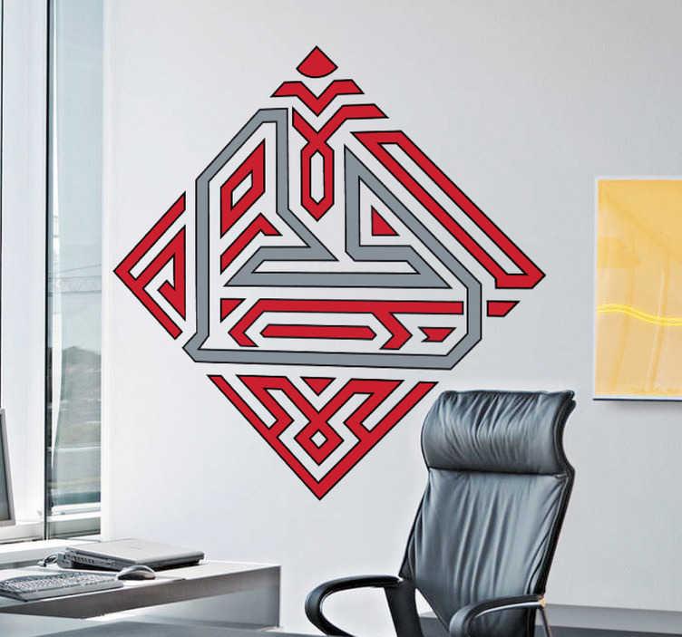 TenStickers. Sticker logo circuit Bahreïn. Le logo du grand prix de Formule 1 et de moto de Bahreïn en sticker.