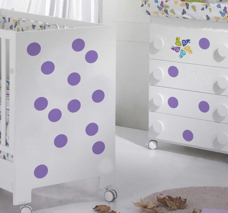 Adesivos de parede circulares