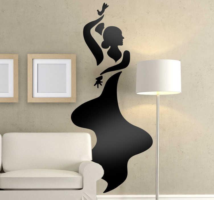 Vinilo decorativo baile andaluz