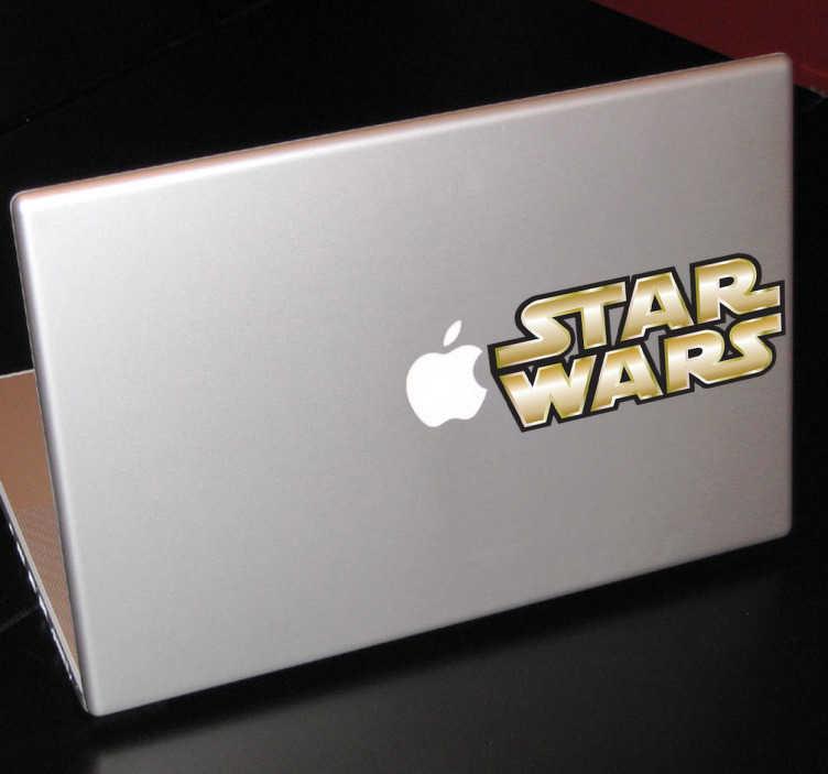 TenVinilo. Vinilo decorativo para mac star wars. Personaliza tu dispositivo Mac con un adhesivo decorativo. ¡Pon en marcha tu Mac y prepárate para saltar al hiperespacio!