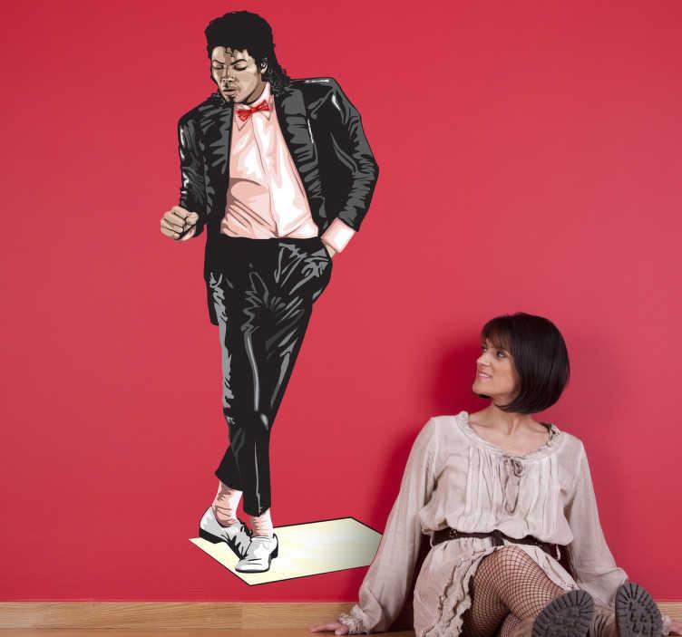 Naklejka Michael Jackson