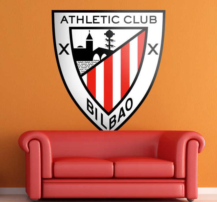 Naklejka dekoracyjna herb Athletic Club Bilbao