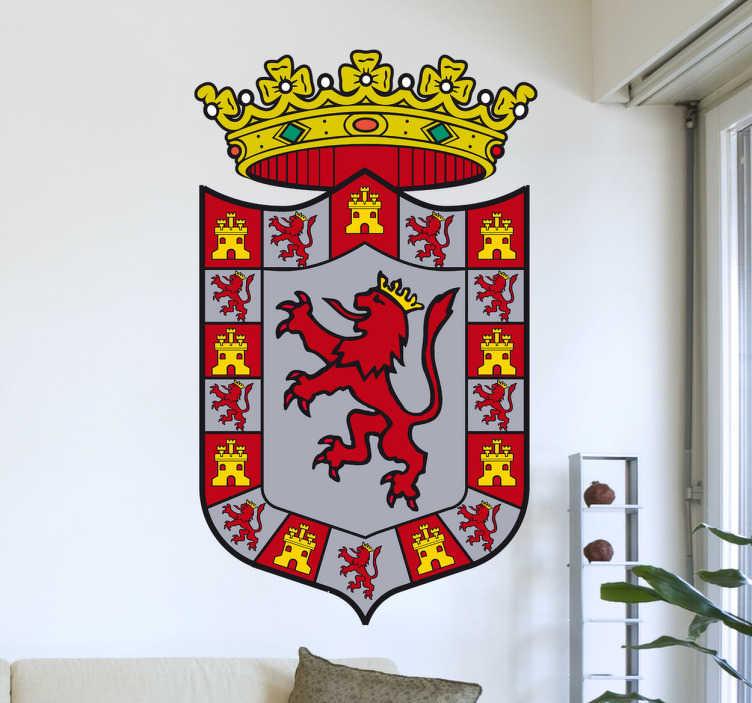 TenStickers. Wandtattoo Emblem Córdoba. Dekorieren Sie Ihr Zuhause mit diesem Emblem von Córdoba als Wandtattoo! Damit bringen Sie Stil und Geschichte an Ihre Wände