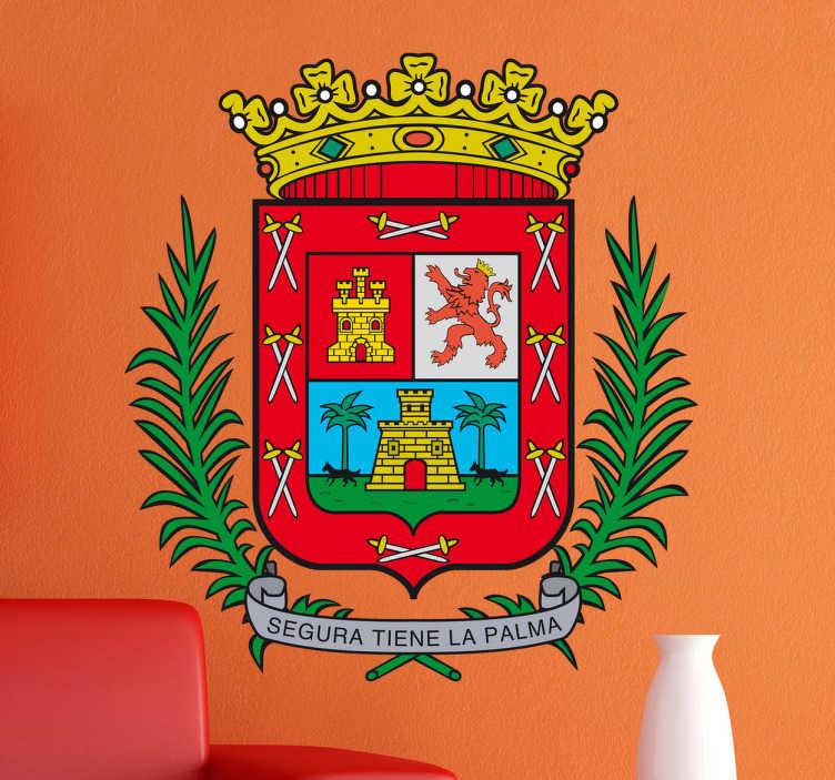Vinilo decorativo escudo Las Palmas