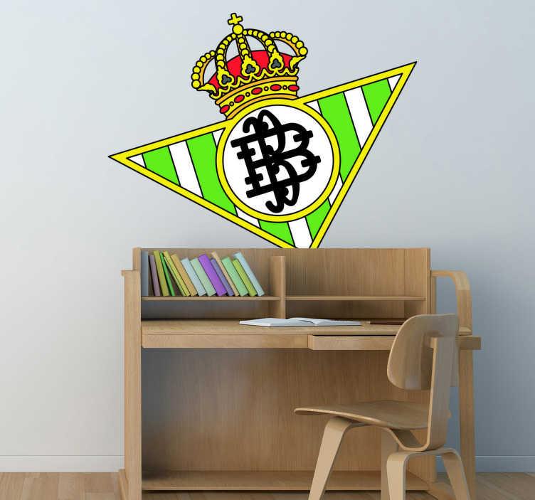 Sticker décoratif emblème de Real Betis Balompié