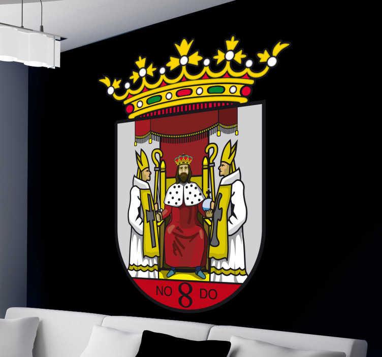 Vinilo decorativo escudo Sevilla