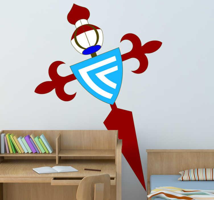 TenVinilo. Vinilo decorativo escudo Celta de Vigo. Vinilo decorativo con el escudo del Celta. Personaliza tu hogar o tus accesorios con los colores de tu equipo.