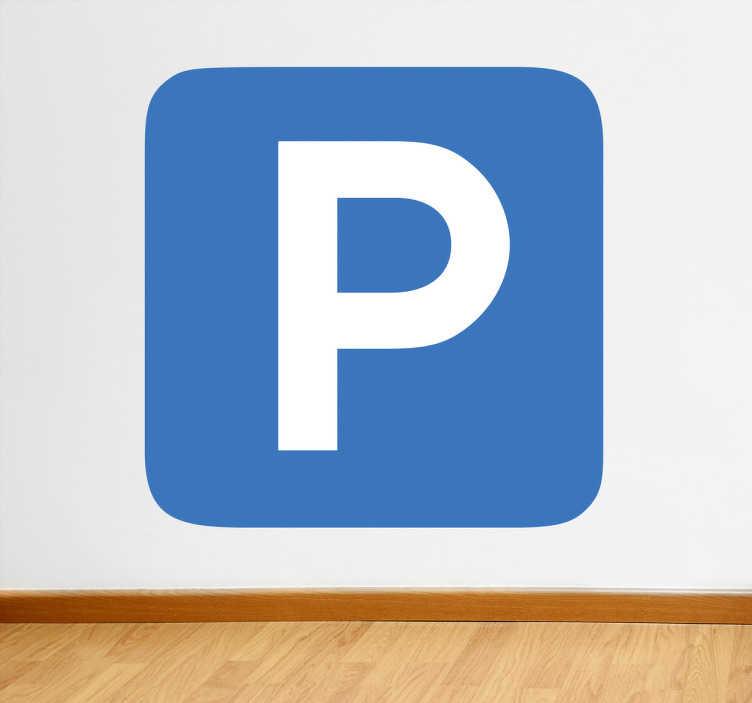 Naklejka Parking