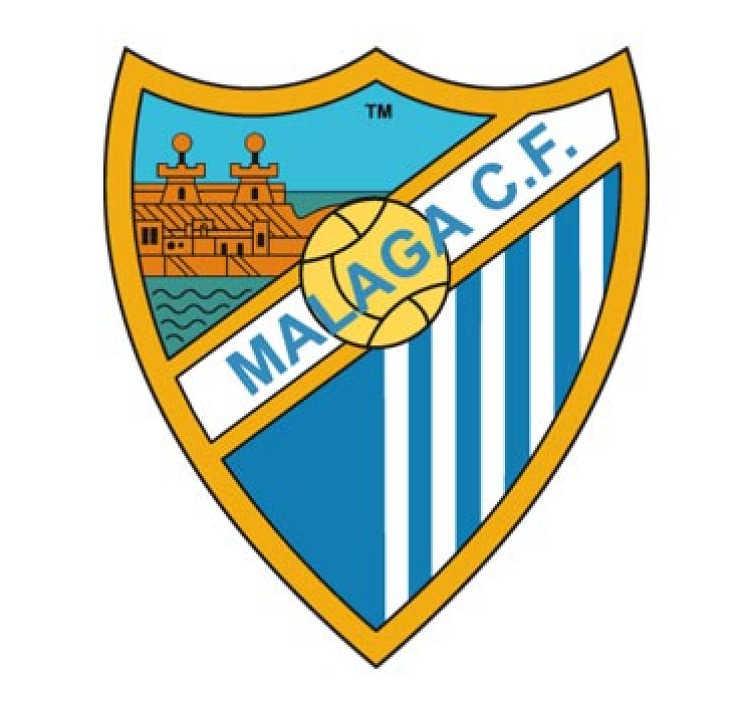 TenStickers. Adesivo decorativo Malaga CF. Adesivo decorativo del Malaga, di diverse misure in modo che i fan possano personalizzare la propria casa o negozio.