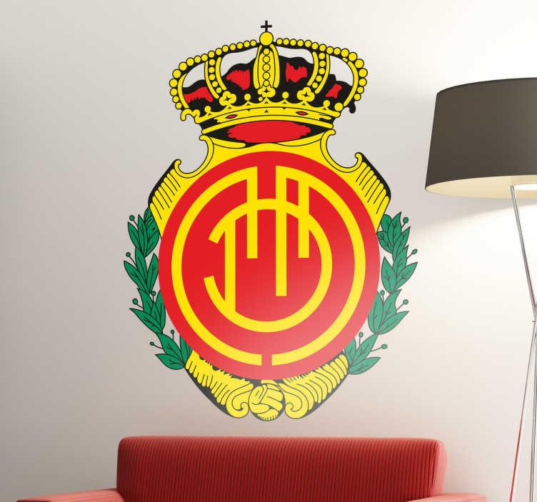 Vinilos Decorativos Mallorca.Vinilo Decorativo Escudo Rcd Mallorca