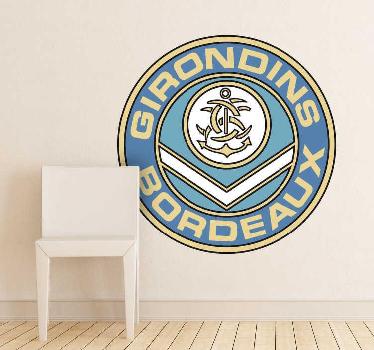Vinilo decorativo escudo Girondins