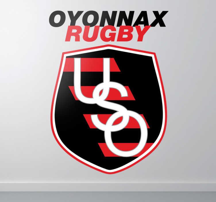 Sticker logo Oyonnax rugby