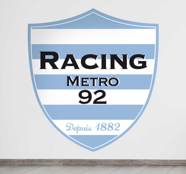 Sticker logo Racing Metro