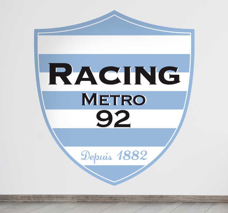 Naklejka herb Racing Metro