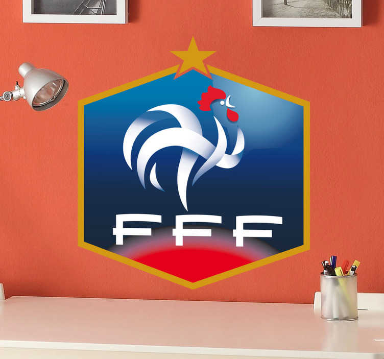 Sticker logo FFF