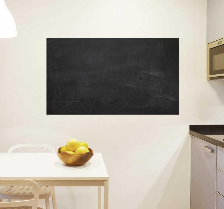 TenStickers. Blackboard Vinyl Sticker. A hassle free blackboard vinyl to decorate your classroom or your home! This superb chalkboard sticker is super easy to apply!