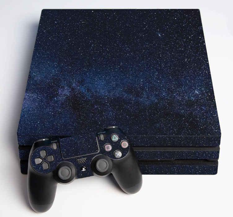 TenVinilo. Vinilo PS4 vistas al espacio. Vinilo ps4 con diseño del espacio perfecto para adherir en tu consola. Disponible para todas las versiones de ps4 ¡Envío a domicilio!